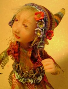 ~ANA~ A FULL MOON FOREST PIXIE GIRL BY POPPENMOON