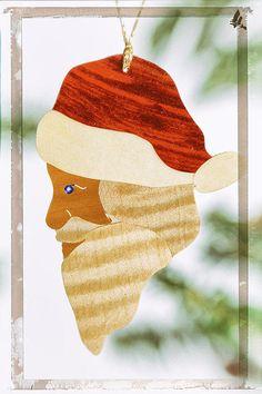 Santa Claus Holiday Image Art by Jo Ann Tomaselli jo-ann-tomaselli.artistwebsites.com