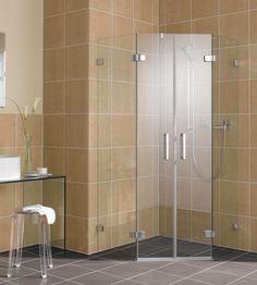 GIA - Sinn und Sinnlichkeit für das Trendambiente. Wc Bathroom, Small Bathroom, Home Design Decor, House Design, Home Decor, Corner Shower Enclosures, End Of Bed Bench, Shower Cabin, Glass Partition