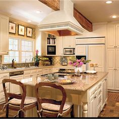 going with TAYLOR CREME cabinets - need to choose a granite similar to St Cecila Light KR