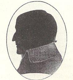Jane's father, George Austen, in silhouette (1731–1805)