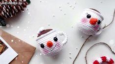Amigurumi Doll Pattern, Baby Shoes, Crochet Hats, Kids, Youtube, Free, Snowman, Dots, Knitting Hats