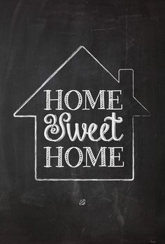 Home Sweet Home...so cute! (free printable)