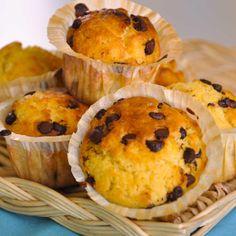 Muffins fondants aux pépites de chocolat - une recette Gâteau - Cuisine | Le Figaro Madame