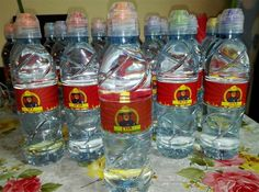 Personal water bottles for kids birthday