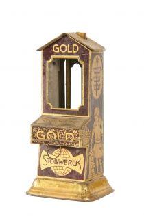 Stollwerck chocolate dispenser and money bank