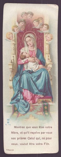 Show thyself a Mother; May the Word Divine, Born for us thy Infant, Hear our prayers through thine.