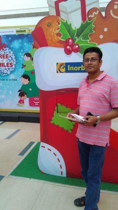 Mr Mangesh Nayak turned Super Santa this Christmas! #InorbitMakesMeSmile