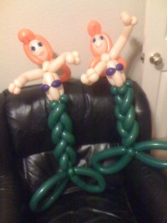 Ariel Balloon Twists