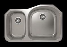 "ProInox 31"" x 20"" Undermount Single Bowl Kitchen Sink"