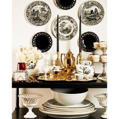 Eddie Ross. Like the black and white mix for a party buffet