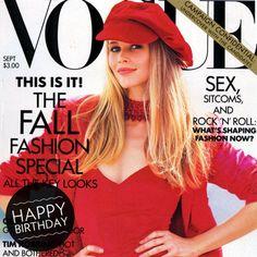 Best Claudia Schiffer Magazine Covers   POPSUGAR Fashion
