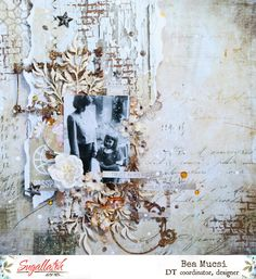 Happy moments by Bea Mucsi Happy Moments, Layout Inspiration, Layouts, Mixed Media, Scrapbooking, In This Moment, Memories, Canvas, Create