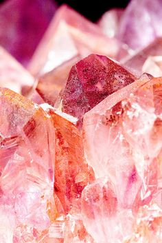 I love crystals!  I hang crystal ornaments on a mini tree in my office at Christmas, and have gorgeous pink, purple, white, and orange crystals on my desk.  I even have a little pink crystal 'worry stone' I keep in my pocket when I travel.  Its fun to rub between my fingers when brainstorming a book or flying for extended hours.