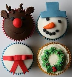 beautiful christmas cupcakes 06