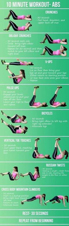 10 Minute Workout - Abs