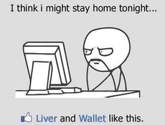 Staying at home - Funny Alcoholic