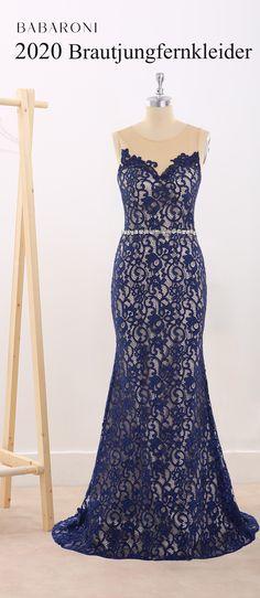 Spitze Kleid Abendkleid Ballkleid Partykleid Royalblau Rot Schwarz NEU BC279