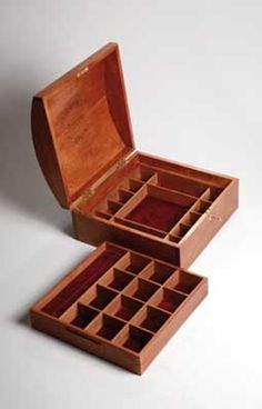 Free DIY Jewelry Box Plans: Woodworking Crafts' Free Jewelry Box