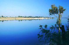 """""""Rio Zambezi"""". # Aqui: Zâmbia."""