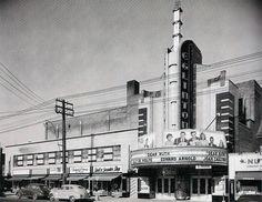 1930s ArtDeco cinema in Toronto
