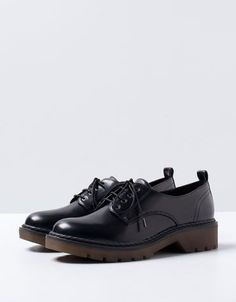 Bershka United Kingdom - Bershka military derby shoes