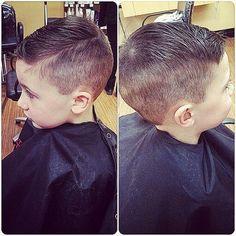 nice Little boy haircut...
