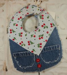 Buckaroo Bib  Baby Bib For Your Little GirlyGirl by jannykathleen, $7.00
