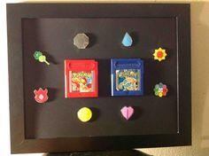 Pokemon Badges via Reddit user  Beaner8127
