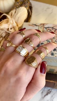 Hand Jewelry, Cute Jewelry, Boho Jewelry, Antique Jewelry, Jewelery, Vintage Jewelry, Fashion Jewelry, Jewellery Rings, Fashion Ring