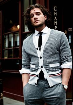 Model makin' it look good - Kit Harington for GQ