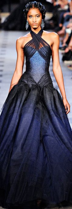 Zac Posen | Spring 2012 Repinned by www.fashion.net