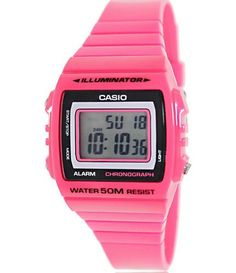 online shopping for Casio Classic Pink Watch from top store. See new offer for Casio Classic Pink Watch Big Watches, Cool Watches, Watches For Men, Casio Classic, Glossier Pink, Pink Watch, Online Watch Store, Rubber Watches, Steel Jewelry
