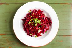 Raw Beet and Cabbage Slaw | Paleo Spirit #paleo #vegan #dairyfree