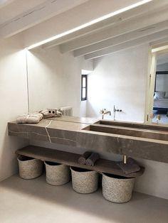 Bathroom Interior Design, Beautiful Bathrooms, Bathroom Furniture, Wooden Furniture, Bathroom Inspiration, Home Decor Accessories, Cheap Home Decor, Interior Architecture, Bedroom Decor