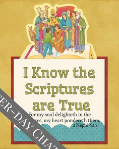 Latter-Day Chatter: 2016 Yearly Poster #LDS #Primary #Primary2016 #Scriptures #LatterdayChatter