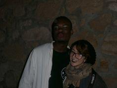 Il Dottore Reahard e la nostra fotografa...