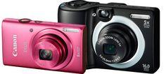 A Canon acaba de adicionar quatro modelos de fácil utilização à sua gama de câmaras compactas – as novas IXUS 140, PowerShot A3500 IS, PowerShot A2600 e PowerShot A1400. Desenhadas para tornar simples a captura de fotos e vídeos HD, cada um dos novos modelos oferece a sua dose exclusiva de funções divertidas e automáticas.