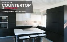 Counterform concrete worktops
