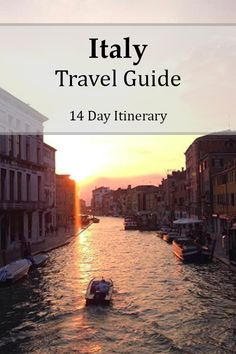 14 Day Itinerary for traveling around Northern Italy #travel #travelbloggers #travelguides #italy
