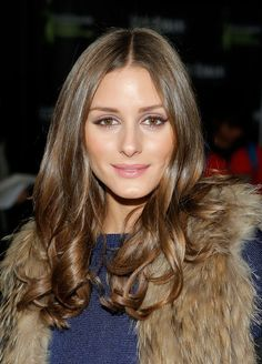 Olivia Palermo. Such lovely makeup.