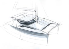 yacht sketch
