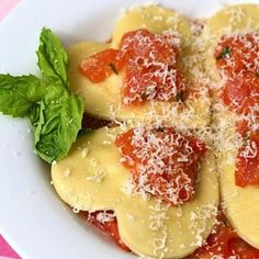 Four Cheese Heart Ravioli {Valentines Recipes}