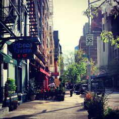 Tribeca, New York City- One of my favorite spots in New York.