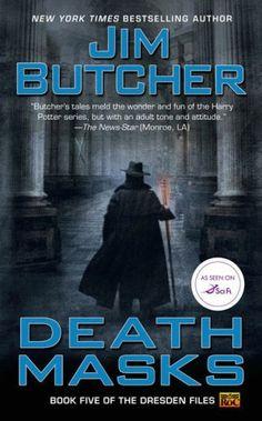 Jim Butcher: Dresden Files Book 5 Death Masks