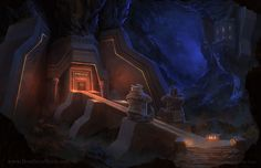 Dwarven Stronghold - Dnd 5th Edition by whatyoumaydo.deviantart.com on @DeviantArt