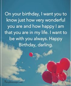 Short And Long Romantic Birthday Wishes For Boyfriend The intended for Sweet Birthday Quotes For Him - Best Birthday Party Ideas Happy Birthday Wishes For Him, Happy Birthday Quotes For Him, Romantic Birthday Wishes, Birthday Message For Boyfriend, Birthday Wish For Husband, Brother Birthday, Birthday Wishes Message, Best Message For Boyfriend, Cute Birthday Messages