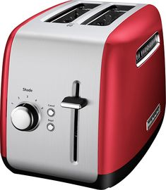KitchenAid - KMT2115ER 2-Slice Wide-Slot Toaster - Empire Red