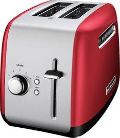 KitchenAid - 2-Slice Wide-Slot Toaster - Empire Red