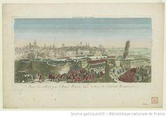 Prise de Colbert par l'Armée Russe aux ordres du général Roumazowz [Kolberg, 16 décembre 1761] :